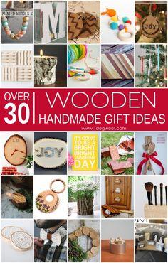 Over 30 wooden handm