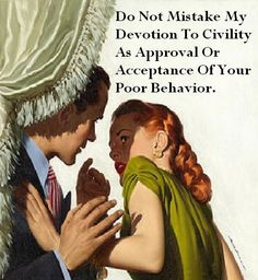 Devotion To Civility