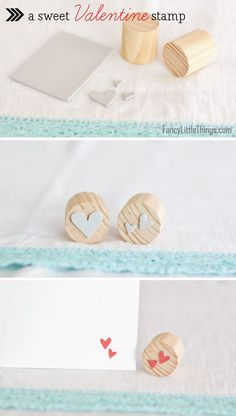 DIY stamp, take the idea and use it with your own custom design.