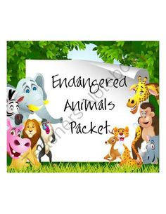 Endangered Animal Research Project from The Resourceful Teacher on TeachersNotebook.com -  (4 pages)  - This project is intended for students to use research skills to answer specific questions about an endangered animal. They are required to work in teams and also create a poster of their findings.