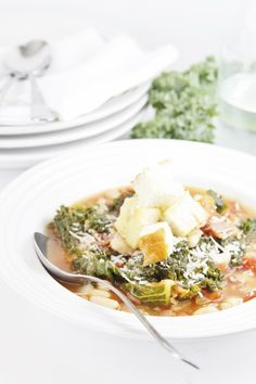Rustic Tuscan Soup