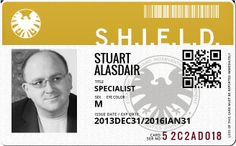 So, in the comics universe, for a while, SHIELD had a UK analogue. It was the Weird Happenings Organization, or WHO. They were led by a pair of twins, Brigadier Alysandre Stuart and...  Alysdare Stuart.  Yeah.  I figured the least I could do was embrace the trans-Atlantic nature of my life and formally join the other guys:)