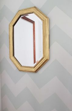 radic possibl, wanna zigzag, diy chevron, striped walls, paint, chevron wall, zigzag aaahhhhh, accent walls, chevron stripes