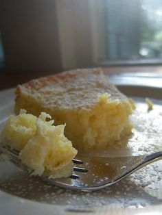 Lemony Cream Butter Cake..