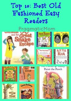 Top 10:  Best Old Fashioned Easy Readers :: PragmaticMom