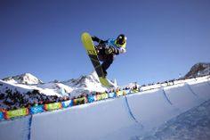 Snowboard Half-pipe