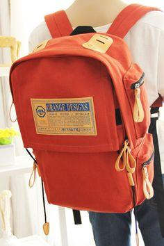 2013 summer new Korean canvas shoulder bag backpack schoolbag bag computer bag A199-ZZKKO
