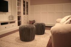 Great before & after basement remodel