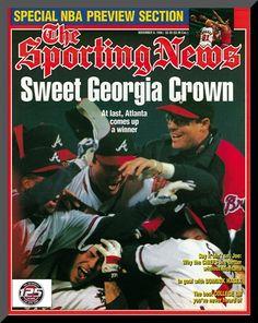 Atlanta Braves - World Series Champions - November 6, 1995