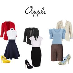 Blazers for women with an Apple Shape.