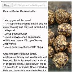 Protein snacks--- guys I found the protein balls!