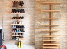 I NEED. DIY shoe storage or book shelves