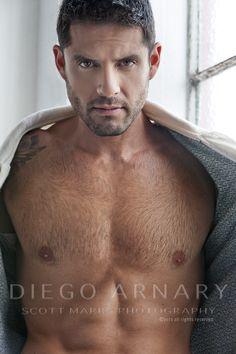 Model: Diego Arnary | © Scott Marrs ► scottmarrsphotography.blogspot.com | #MaleModel #shirtless #abs #pecs #muscular #torso #physique