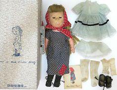 Vintage 1st Edition Brookglad Poor Pitiful Pearl Doll Steig Box Clothes Booklet | eBay