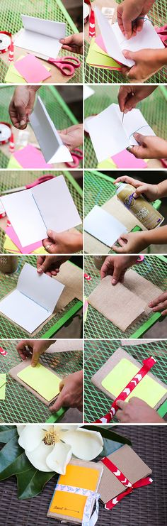 DIY journal for your purse | Henry Happened