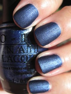 OPI Russian Navy Suede
