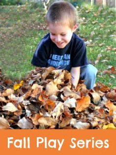 Fall Play Series - 5 days, 4 blogs, 20 recipes for play with a fall theme!