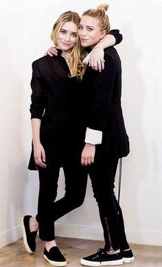 Olsens Anonymous Blog Mary Kate And Ashley Olsen Black On Black Superga Slip On Celine Sneakers Zipper Ankle Jeans Pants Sheer Tunic Bun photo Olsens-Anonymous-Blog-Mary-Kate-And-Ashley-Olsen-Black-On-Black-Superga-Slip-On-Celine-Sneakers.jpg