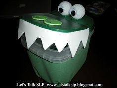 Alligator Craft - Pinned by @PediaStaff. - Please Visit http://ht.ly/63sNt for all our pediatric therapy pins