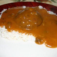 Hamburgers & Rice Recipe