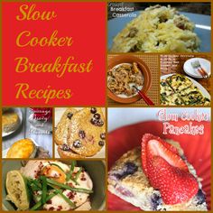 Slow Cooker Breakfast Recipes
