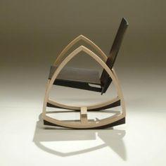 Woodpecker Rocking Chair by Päivi Mikola, gharan.com #Rocking Chair #Paivi_Mikola #gharan