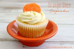 Orange Slice Cupcakes get off to an easy start with a doctored up cake mix. Top it off with a simple, but delicious homemade orange buttercream frosting! These babies are perfect for summer parties! #summer #orange #cupcakes by lovebakesgoodcakes, via Flickr