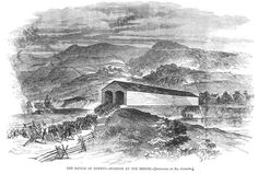 another engraving of the battle of Romney Bridge