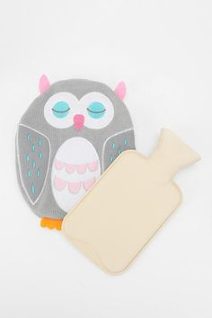 {owl hot water bottle cover}