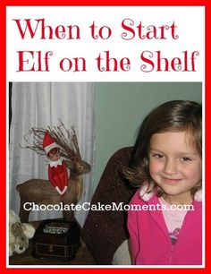 When to Start Elf on the Shelf #elfontheshelf
