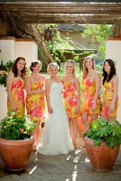 Rock the Floral bridesmaids dresses for 2013!!!