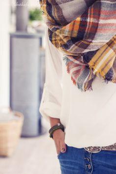 blanket scarf.