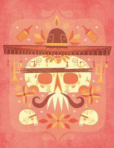 La Fiesta Muerta | Illustrator: Jorsh Pena