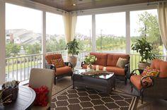 Schumacher Homes: Floorplans - Beverly II Series - screen porch
