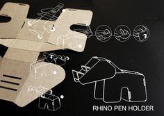 eduardo alessi, galleries, carton board diy, behance, diy collect, eco diy, wildlife, design, pens
