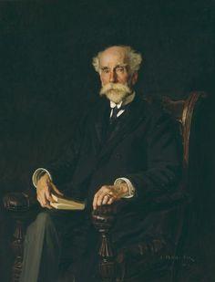 Fox, E. Phillips (1865-1915) - 1914 Henry Gyles Turner, F.R.G.S. (National Gallery of Victory, Australia) by RasMarley, via Flickr