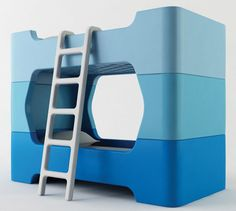 modern baby, marc newson, kids boutique, kid furniture, bunk beds, bed designs, kid rooms, lego, bedroom interiors