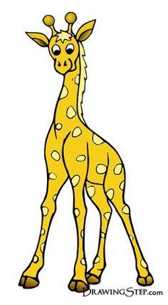 How to draw giraffes