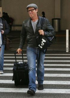 Harry Connick, Jr. - Harry Connick Jr. Arrives at LAX
