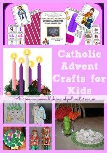 Catholic Advent Crafts for Kids