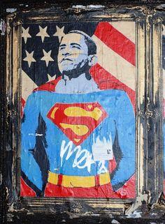 Superman Barack Obama