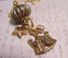 Circus Necklace. Enchanting. Magical Le by EmilinaBallerina, $20.00