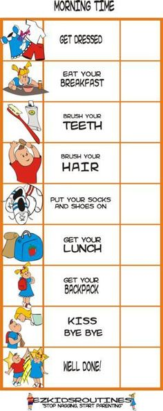 Child Therapy Toys - Morning Time! EZ Kid's Routine