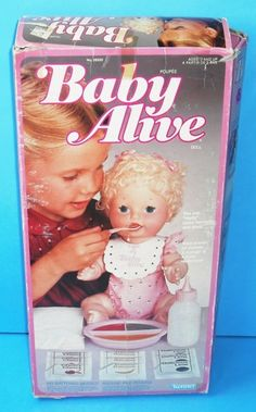 1970S Popular Toys | baby alive  She really did poop & pee and came with disposable diapers. Kind of gross after the novelty wore off.