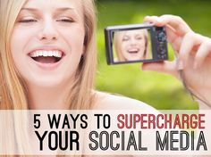 Looking to amp up your social media and inspire yourself? We've got 5 ways to SUPERCHARGE your social media!