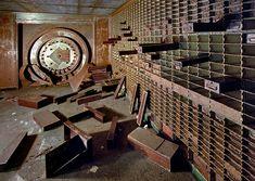 Abandoned bank vault?