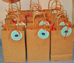 Itsy bitsy spider favor tags by Januaryblooms on Etsy, $6.50