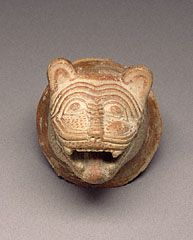 Lion's-Head Ornament, Greek, about 650 B.C.