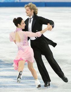 U.S. Ice Dancers Charlie White And Meryl Davis