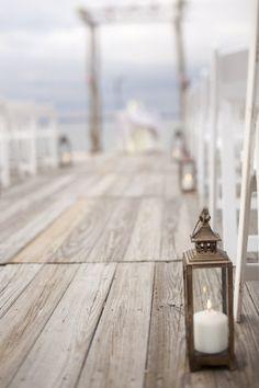 . lantern, event planning, galleri, sea, beach weddings, walkway, candl, deck, light